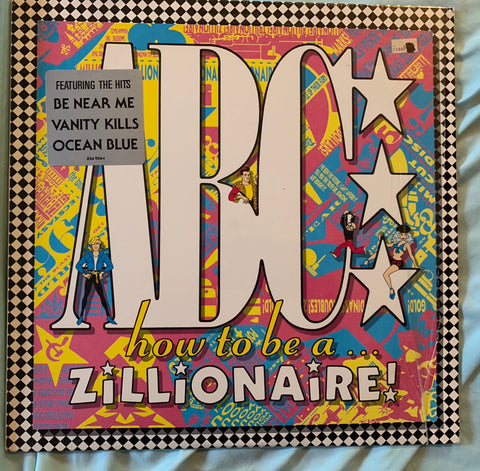 ABC - How To Be A Zillionaire LP VINYL (1985) used like new