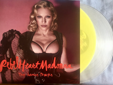 MADONNA Rebel Heart (Bonus Edition) 2x LP NEW  Colored VINYL