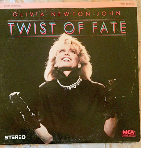 Olivia Newton-John - Twist Of Fate LIVE Concert LASERDISC - used
