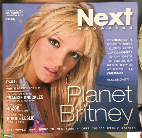 Britney Spears - NEXT Magazine 2002 - NYC