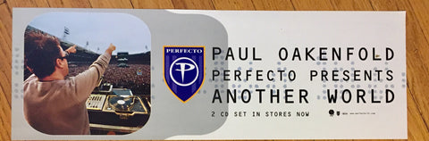 Paul Oakenfold - Official Promotional Poster - Another World