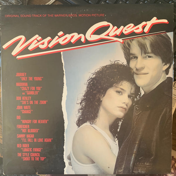 Vision Quest Soundtrack : (Madonna) Used  1985 LP VINYL
