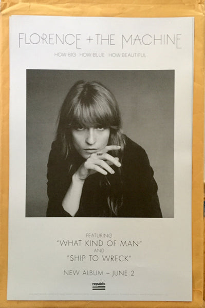 Florence + The Machine - official double side promo poster