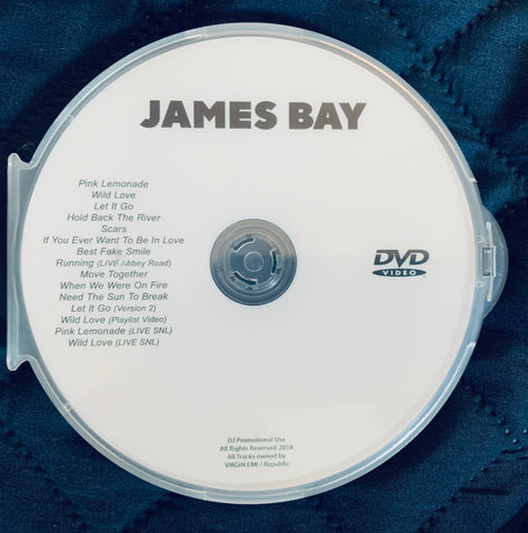 James Bay - DVD video collection & LIVE performances