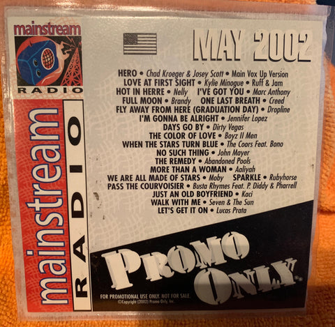 Promo Only May 2002 Mainstream Radio CD