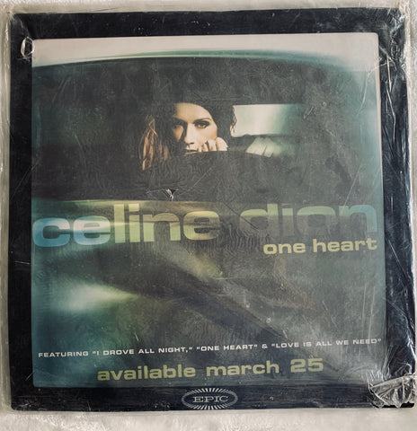 Celine Dion - Official Giant One Heart  Mouse Pad - New