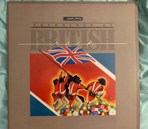 ANTHOLOGY OF BRITISH ROCK (BOWIE) - Pye Years A Compleat  Double LP