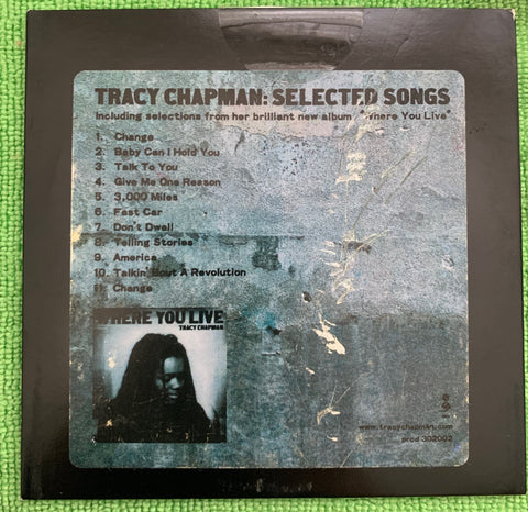 Tracy Chapman: Selected Songs (USA PROMO) used CD