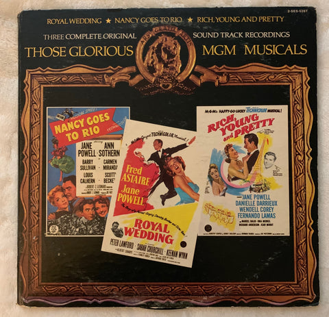 MGM Musicals: Nancy Goes To Rio / Royal Wedding / Rich Young & Pretty 2xLP Vinyl