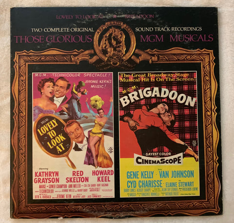 MGM Musicals: Lovely To Look At / Brigadoon 2xLP vinyl