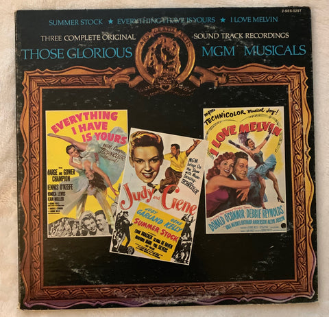 MGM Musicals: Everything I Have Is Yours / Summer Stock / I Love Melvin  2xLP vinyl