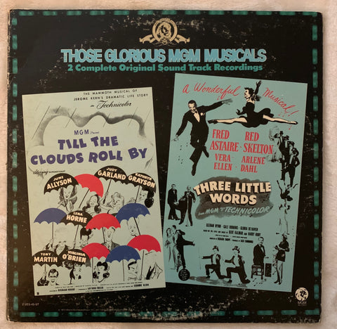 MGM Musicals: Till The Clouds Roll By / Three Little Words 2XLP Vinyl
