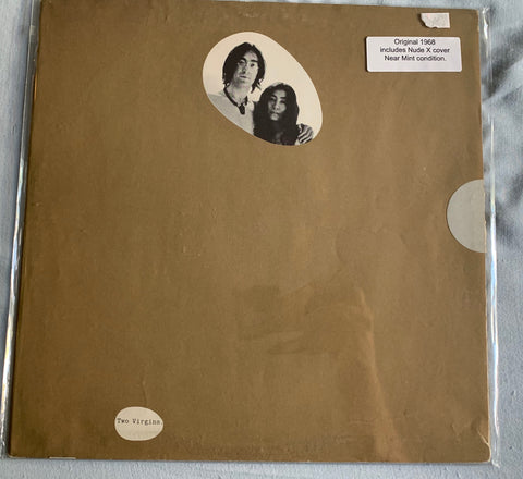 John Lennon / Yoko One - Two Virgins (1968 Original) _ Used Like New