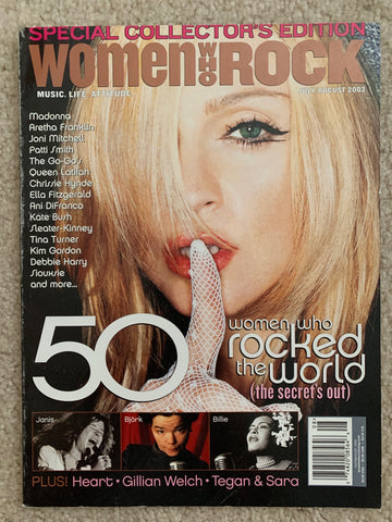 Madonna - Women Who Rock Magazine