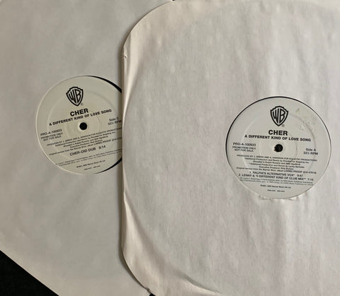 "Cher - A Different Kind Of Love Song  - PROMO 12"" LP vinyl"