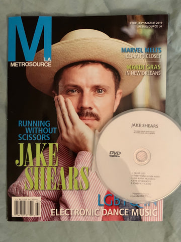 Jake Shears  - Magazine & Promo DVD