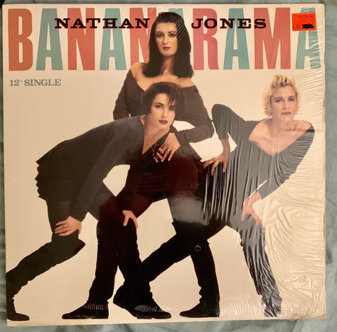 "Bananarama - Nathan Jones (USA 12"" LP Vinyl) 1989 Used in VG++"