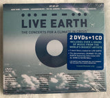 Live Earth - The Concert for a Climate In Crisis 2 DVD + CD (New) Sealed : Madonna
