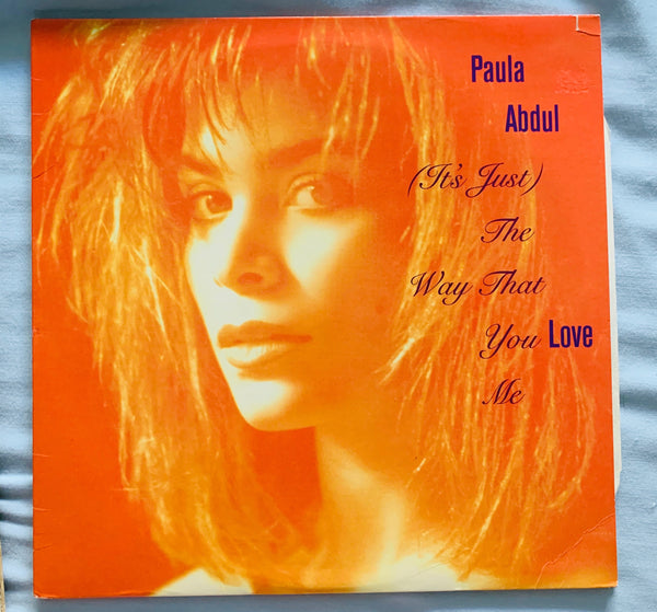 "Paula Abdul - (It's Just) The Way That You Love Me 12"" LP Vinyl"