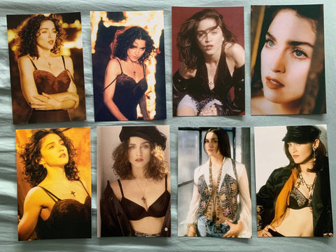 Madonna - 8 'LIKE A PRAYER' promo postcards (SALE)