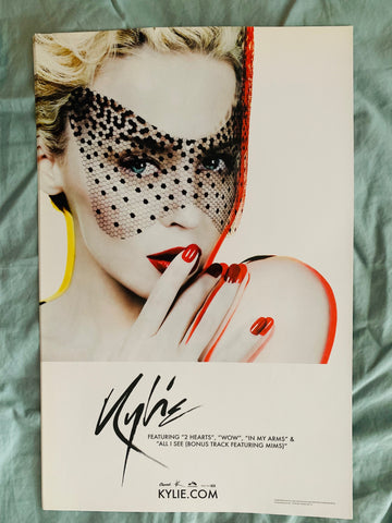 Kylie Minogue - X  promo poster 11x17