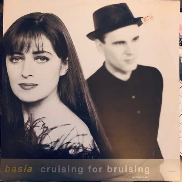 "Basia - Crusing For Bruising UK 12"" remix LP Vinyl - used"