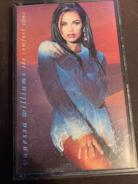Vanessa Williams - The Comfort Zone  Cassette Tape - used