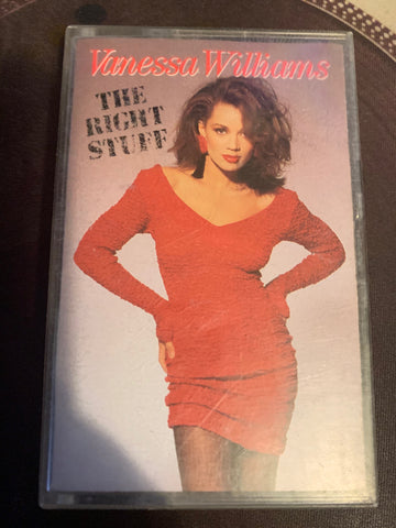 Vanessa Williams - The Right Stuff Cassette Tape - used d