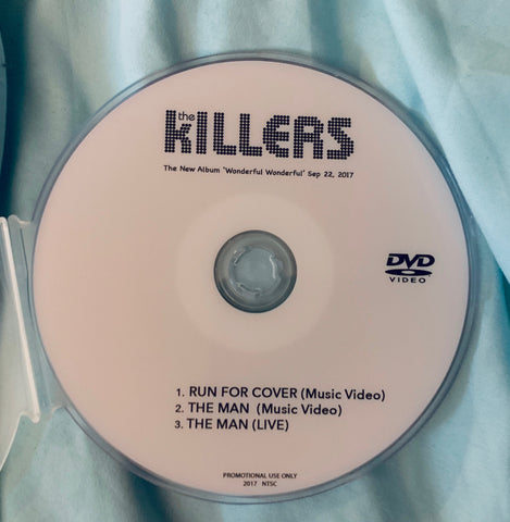 The Killers DVD single The MAN