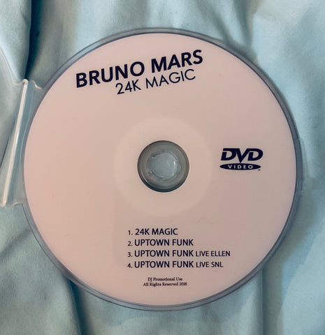 Bruno Mars - Uptown Funk DVD single (NTSC)