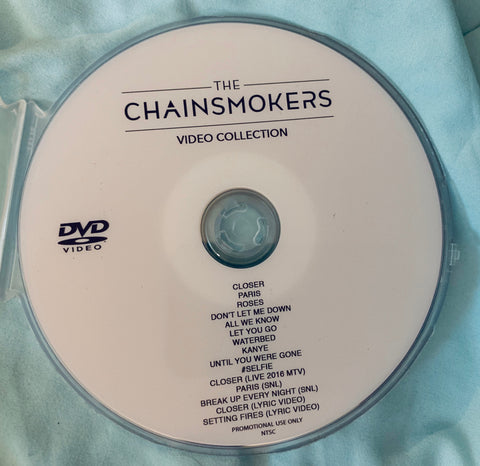The Chainsmokers DVD video Collection