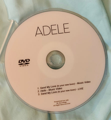 Adele - HELLO DVD single +