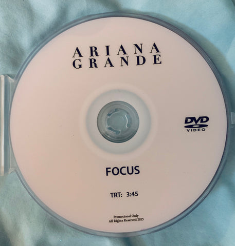 Ariana Grande - FOCUS DVD single