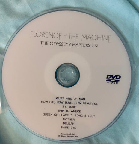 "Florence + The Machine "" ODYSSY"" DVD promo"