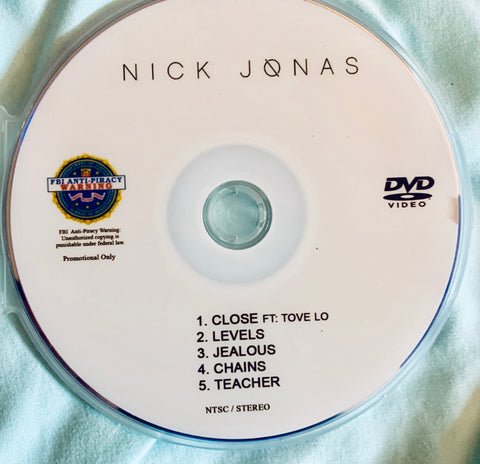 Nick Jonas - DVD Promo 5 videos