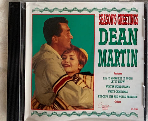 4 Christmas Used CD; Pottery Barn, Dean Martin Crooner's Christmas
