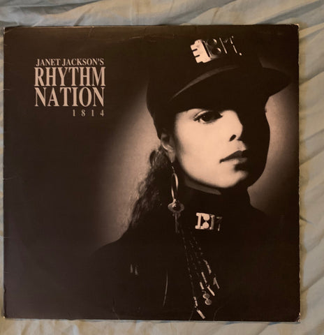 Janet Jackson - Rhythm Nation Original LP Vinyl Record (Used)