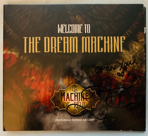 La Machine de Reve ft: Donna De Lory - Welcome To the Dream Machine CD  (Signed by Donna)