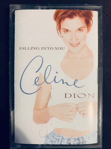 Celine Dion - FALLING INTO YOU (Cassette Tape) Used