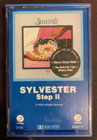 Sylvester - STEP II  (Cassette BLUE COLORED tape) used