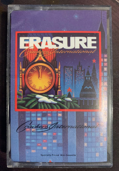 ERASURE - Crackers International Cassette - Used