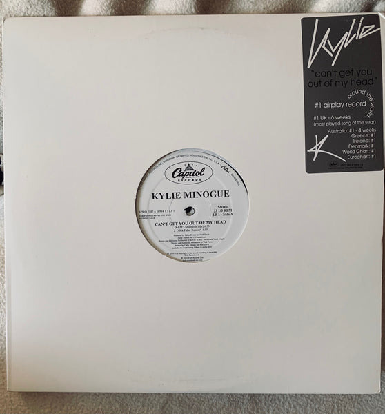 Kylie Minogue - Can't Get you Out Of My Head double 2xLP promo VINYL 12""