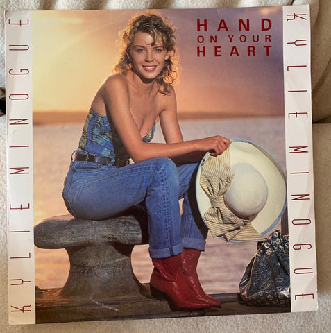 "Kylie Minogue - Hand On Your Heart  VINYL 12"" - Used"