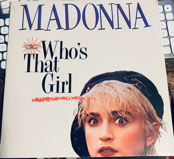 "Madonna - Who's That Girl 1987 LP VINYL 12"" New / sealed"