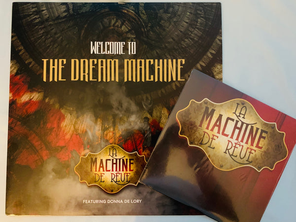 La Machine de Reve ft: Donna De Lory - Welcome To The Dream Machine LP VINYL + Free colored 45 record