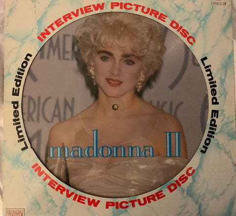 "Madonna - Interview Picture Disc 12"" Vinyl"