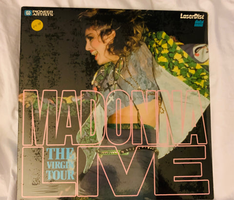 Madonna - THE VIRGIN TOUR Laser Disc / New / Sealed!!!