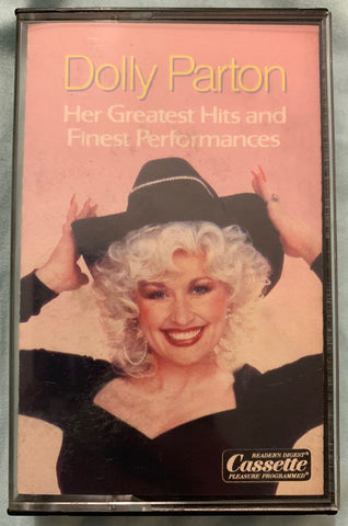 Dolly Parton - Her Greatest Hits and Finest Performances - Cassette (Used)