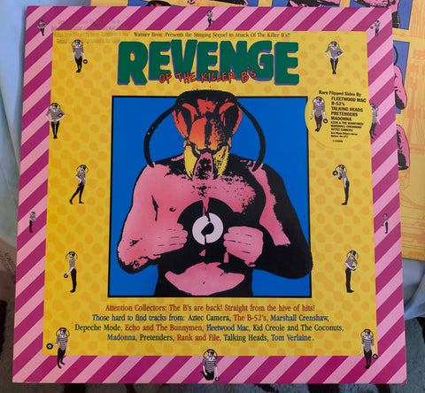 Revenge of the Killer B's - (Various SIRE artist) LP 1984