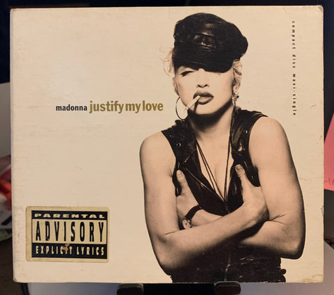 Madonna - Justify My Love US CD single - Used